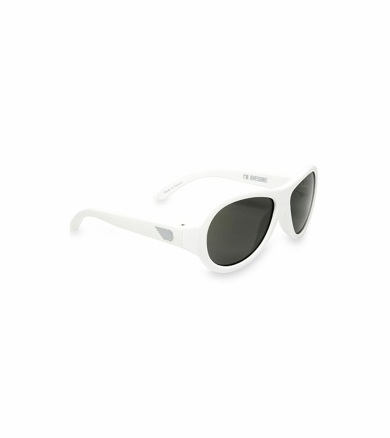 Babiators Polarized - Wicked White