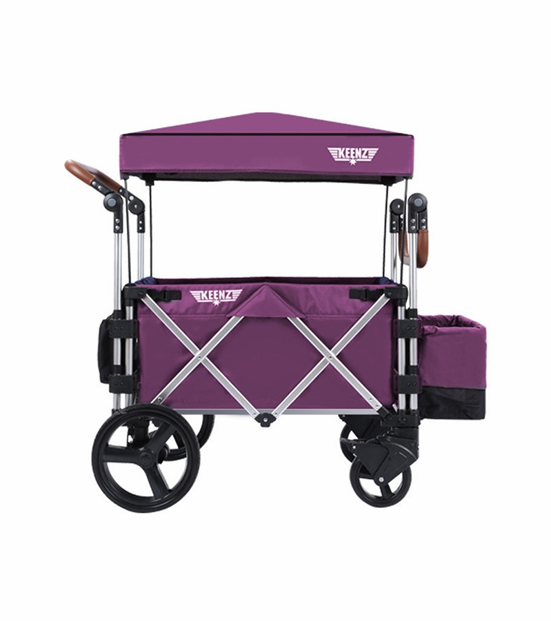 Keenz 7s Stroller Wagon Purple