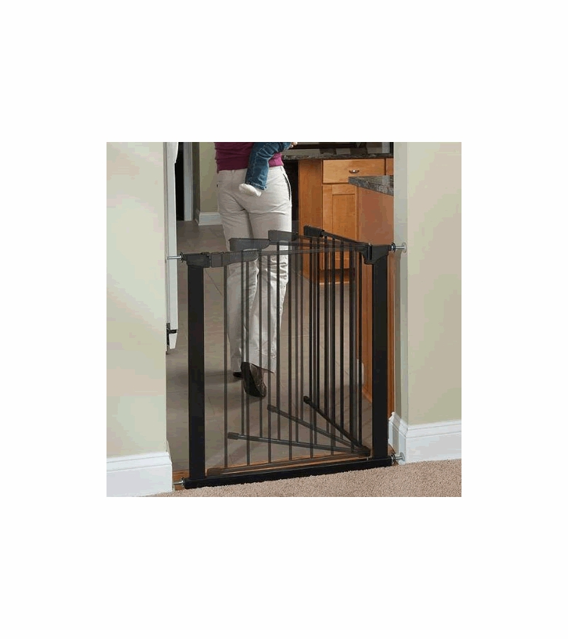 Kidco Auto Close Gateway Black