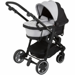 Kiddy Click'n Move 3 Carrycot - Stone