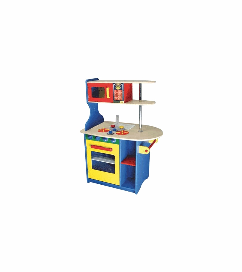 kidkraft island kitchen in primary colors kidkraft modern island kitchen 16467940 overstock com