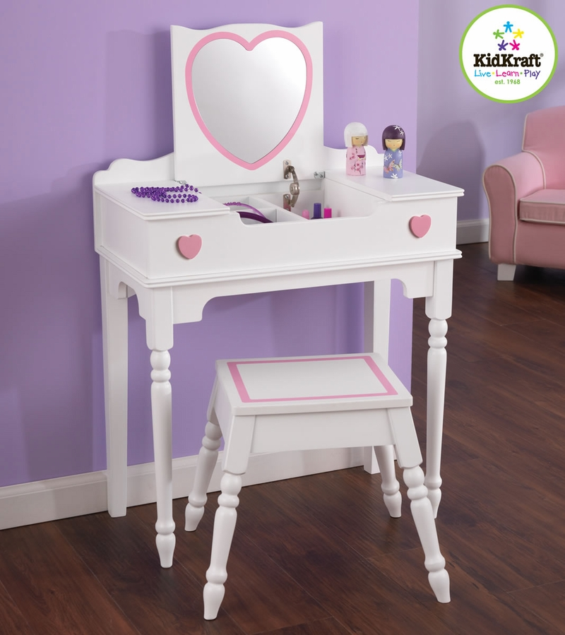 Kidkraft My Pretty Vanity With Stool