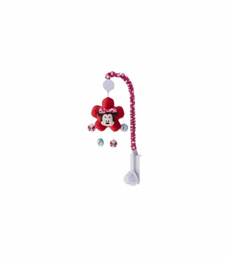 Kids line disney minnie mouse musical mobile - Minnie mouse mobel ...