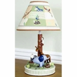 Kids Line Zanzibar Lamp Base & Shade
