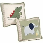 Kids Line Zanzibar Pillow - set of 2