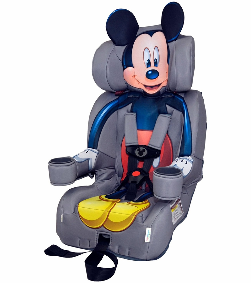 kidsembrace harness booster car seat mickey mouse