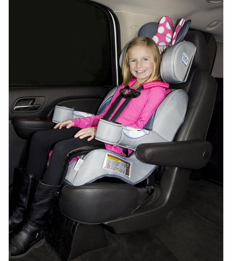 KidsEmce Harness Booster Car Seat - Minnie Mouse
