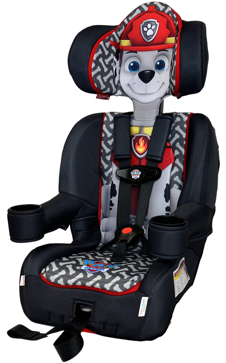 KidsEmbrace Harness Booster Car Seat - Paw Patrol Marshall