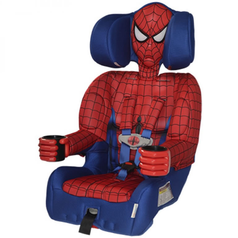 Spiderman Child Car Seat Cover