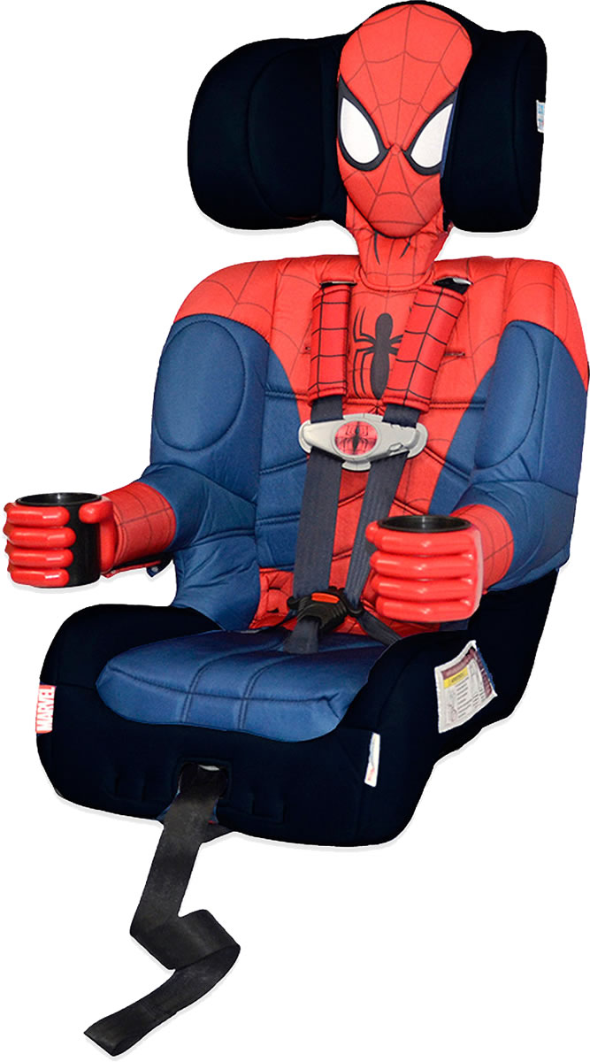 KidsEmbrace Harness Booster Car Seat - Ultimate Spider-Ma...
