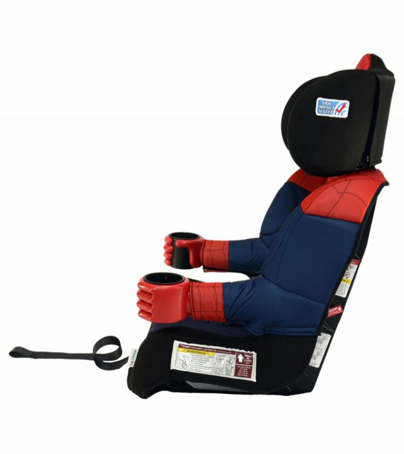 kidsembrace harness booster car seat ultimate spider man black. Black Bedroom Furniture Sets. Home Design Ideas
