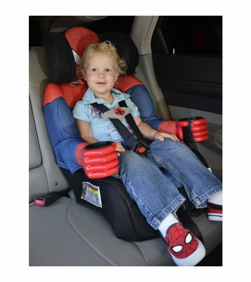 kidsembrace combination booster car seat ultimate spider man black