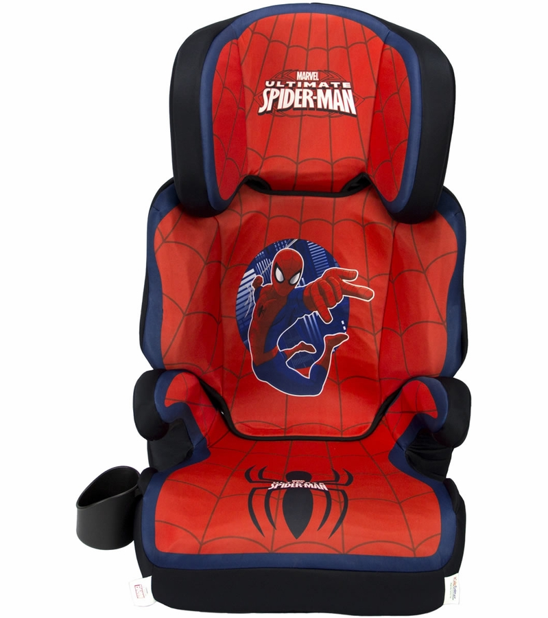 kidsembrace fun ride booster spiderman. Black Bedroom Furniture Sets. Home Design Ideas