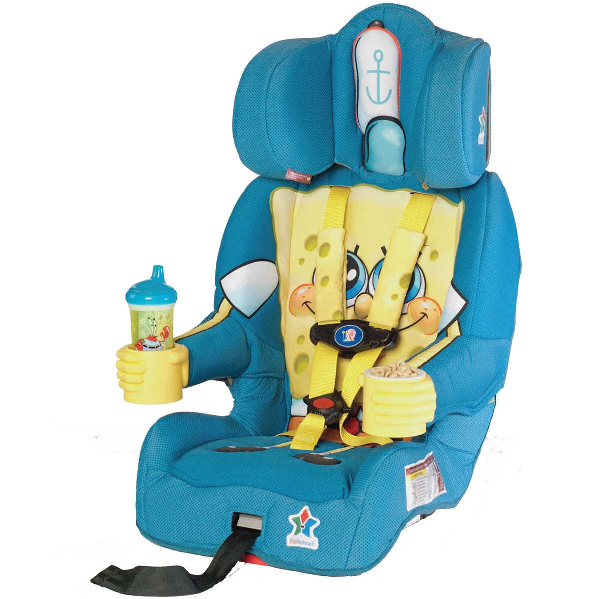 KidsEmbrace Combination Booster Car Seat - SpongeBob Squa...