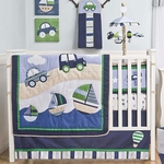 KidsLine Cambridge 5 Piece Crib Set