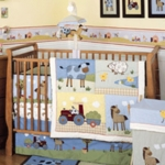 KidsLine Country Side 4 Piece Crib Set