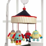 KidsLine Robots Play Musical Mobile