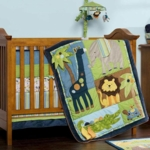 KidsLine Tribal Tails 8-Piece Crib Set