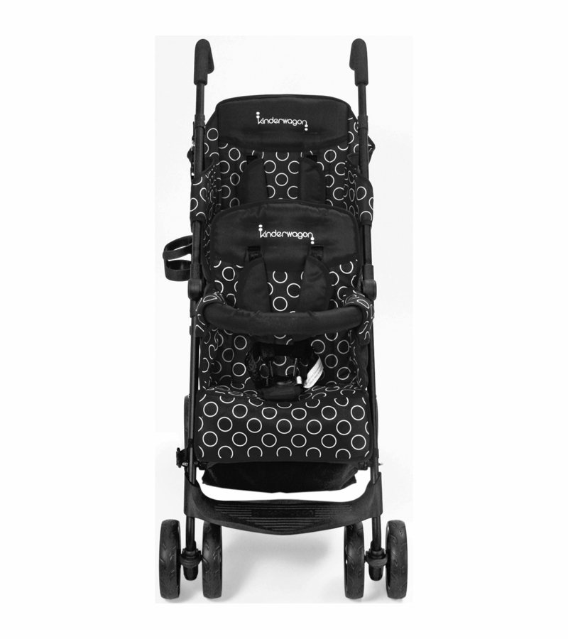 sc 1 st  Albee Baby & Kinderwagon HOP Tandem Double Umbrella Stroller in Black