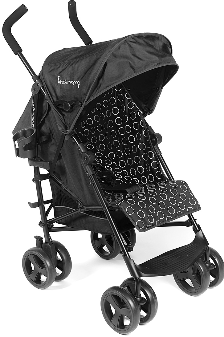 Kinderwagon Skip Umbrella Stroller - Black