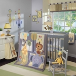 Lambs & Ivy Cornelius 4 Piece Crib Bedding Set