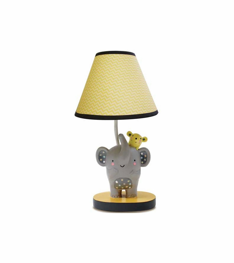 lambs ivy cornelius lamp with shade bulb. Black Bedroom Furniture Sets. Home Design Ideas