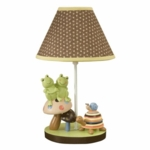 Lambs & Ivy Froggyville Lamp Base with Shade