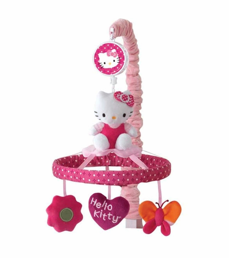 Lambs Amp Ivy Hello Kitty Garden Musical Mobile
