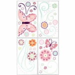 Lambs & Ivy Kaleidoscope Wall Appliques