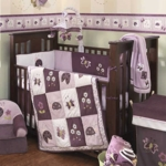 Lambs & Ivy Luv Bugs 4 Piece Crib Bedding Set