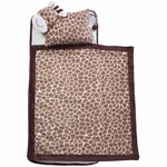 Lambs & Ivy Luxury Nap Mat - Giraffe