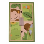 Lambs & Ivy Papagayo Switch Plate Cover