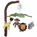 Lambs & Ivy Peek A Boo Jungle Musical Mobile
