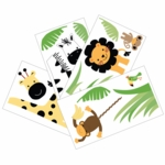 Lambs & Ivy Peek A Boo Jungle Wall Appliques