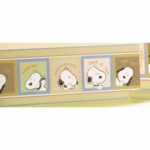 Lambs & Ivy Peek A Boo Snoopy Wall Border