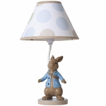 Lambs & Ivy Peter Rabbit™ Lamp with Shade & Bulb