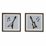 Lambs & Ivy Rock N' Roll Wall Decor