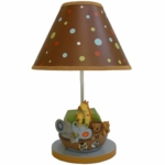 Lambs & Ivy S.S. Noah Lamp with Shade & Bulb