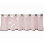 Lambs & Ivy Swan Lake Window Valance