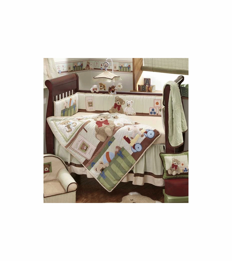 Teddy Bear Crib Bedding