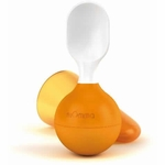 Lansinoh mOmma Mealtime Soft Spoon - Orange
