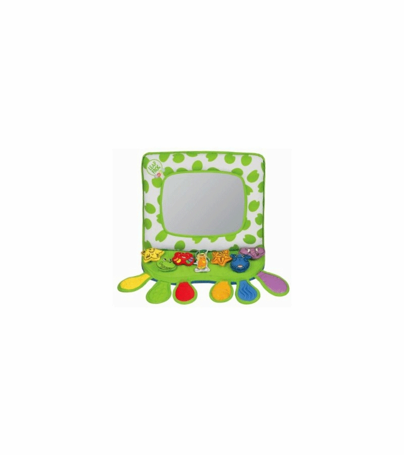 Leap Frog Crib and Floor Mirror