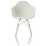 Little Nest Bucket Child Chair in White