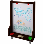 Little Partners Art Easel – Dark Cherry