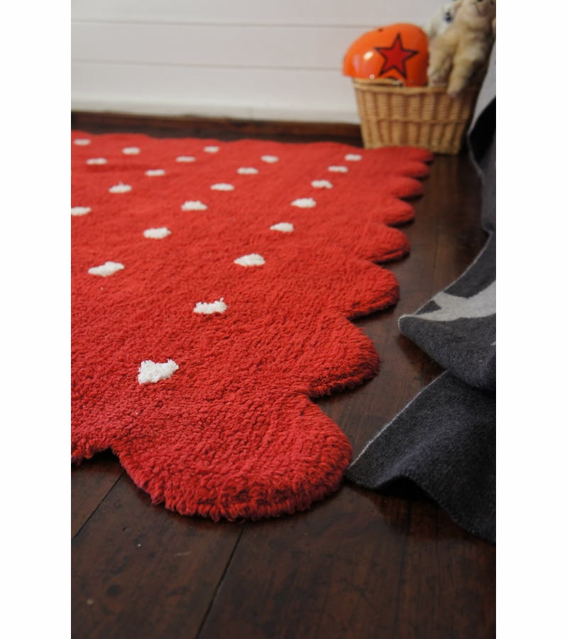 lorena canals biscuit rug red 4 39 x 5 39 3. Black Bedroom Furniture Sets. Home Design Ideas