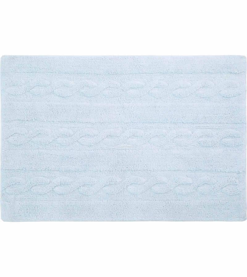 lorena canals braids rug soft blue 2 39 6 x 4 39. Black Bedroom Furniture Sets. Home Design Ideas