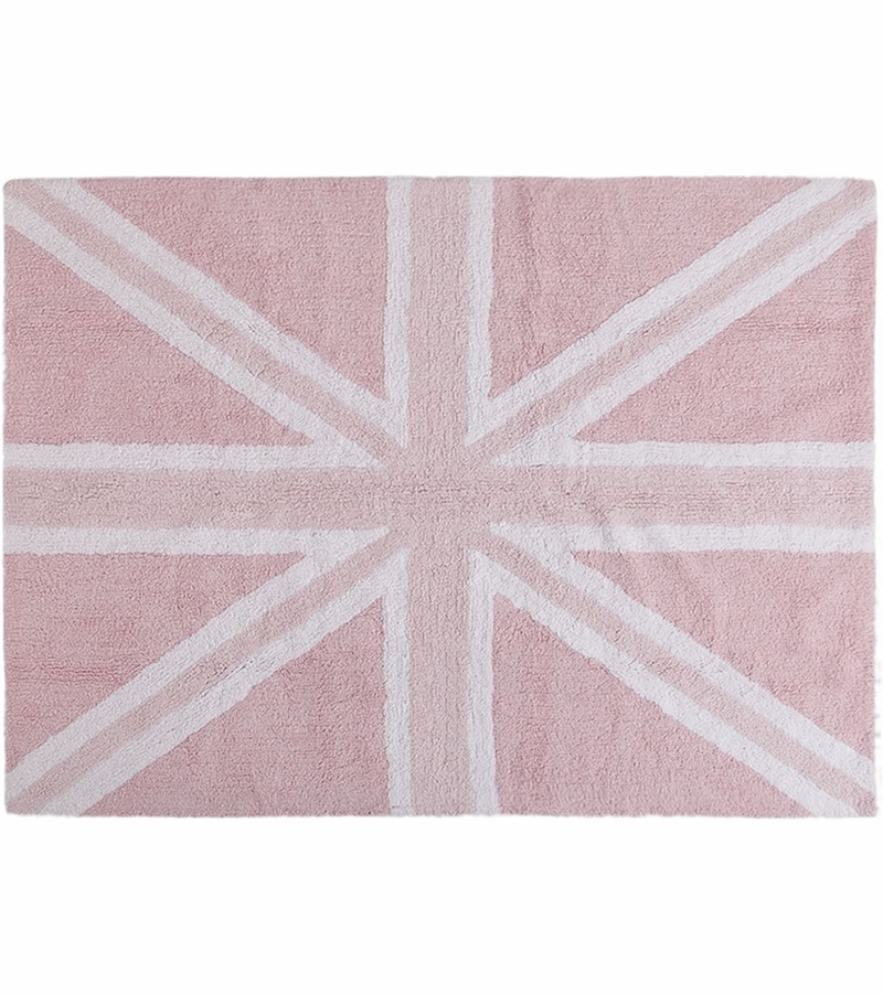 Baby Pink Bathroom Rugs: Baby Pink (4' X 5' 3""