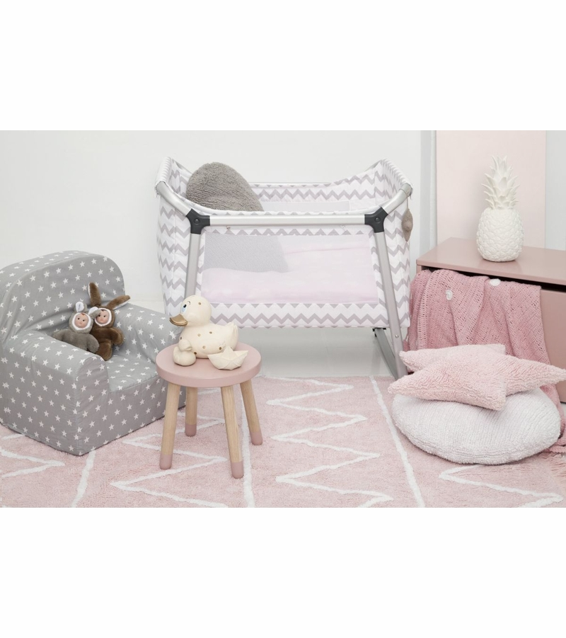 lorena canals hippy rug soft pink 4 39 x 5 39 3. Black Bedroom Furniture Sets. Home Design Ideas