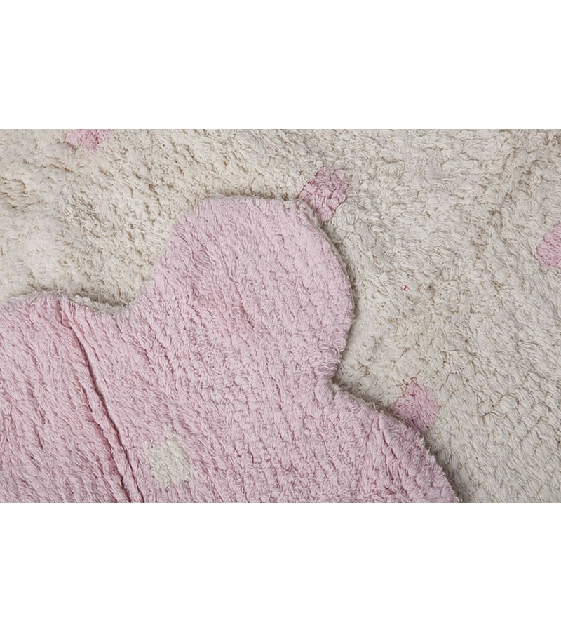 lorena canals reversible biscuit rug pink beige 4 39 x 5 39 3. Black Bedroom Furniture Sets. Home Design Ideas
