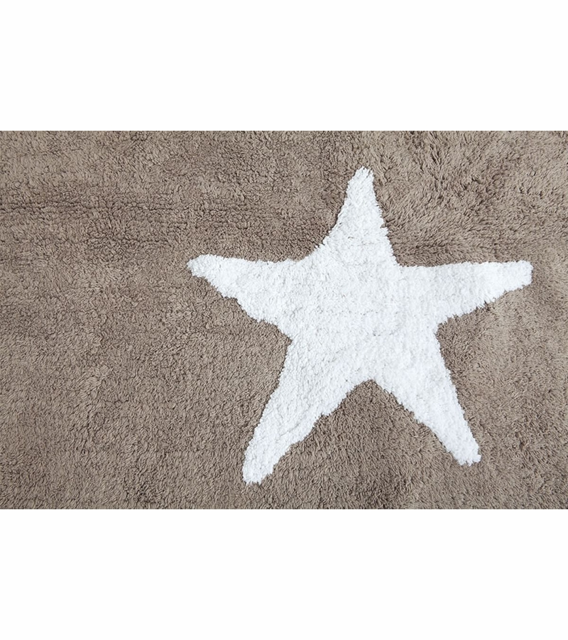lorena canals three stars linen rug white 4 39 x 5 39 3. Black Bedroom Furniture Sets. Home Design Ideas